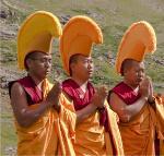 Monks from Gaden Shartse Monastery