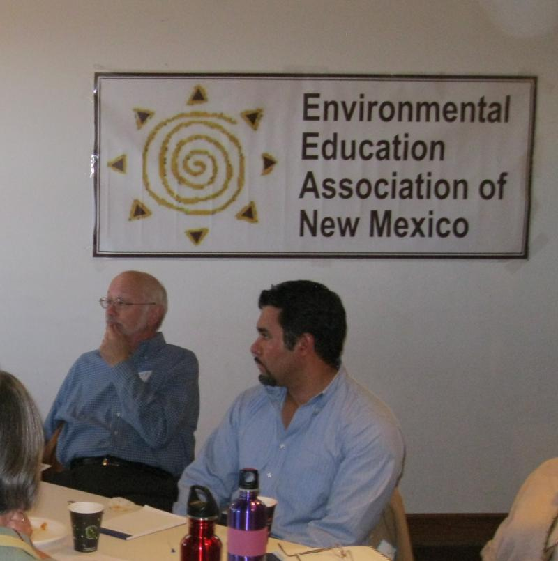 Participants at the meeting included State Senator Jerry Ortiz y Pino and Cibola High School teacher Anthony Rodriguez.