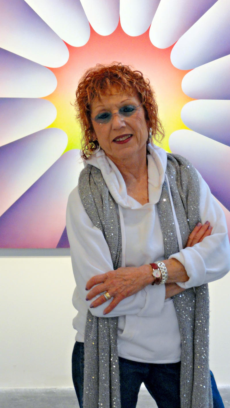 Artist Judy Chicago will discuss her series PowerPlay on July 7 with Jonathan Katz. For more information, go to www.throughtheflower.org