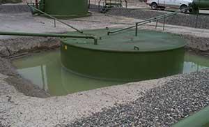 Leaking tank in San Juan County, NM.