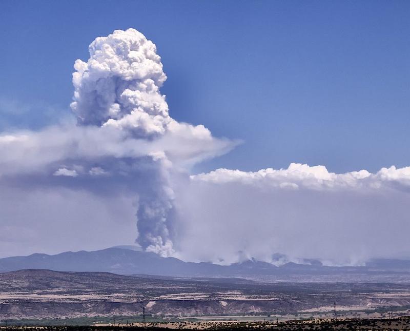 2011's Las Conchas fire in the Jemez Mountains