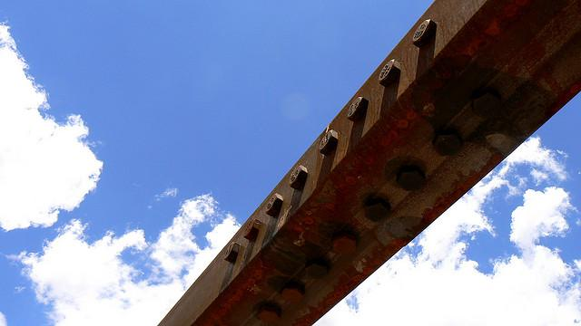 A bridge in Aztec, NM.