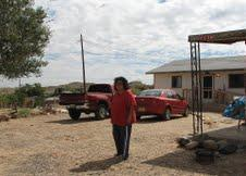 Rebekah Apachito at her home