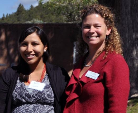 Nadine Padilla, MASE, and Karyn Stockdale, executive director of Audubon New Mexico.