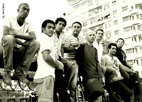 Popular Egyptian band Wust El Balad.