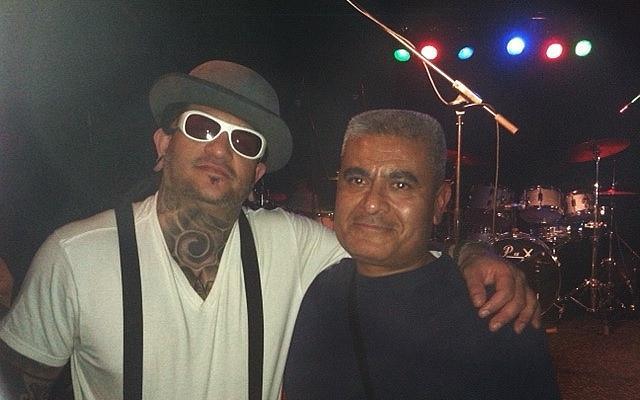 Karlos Paez and Host Adam Aguirre