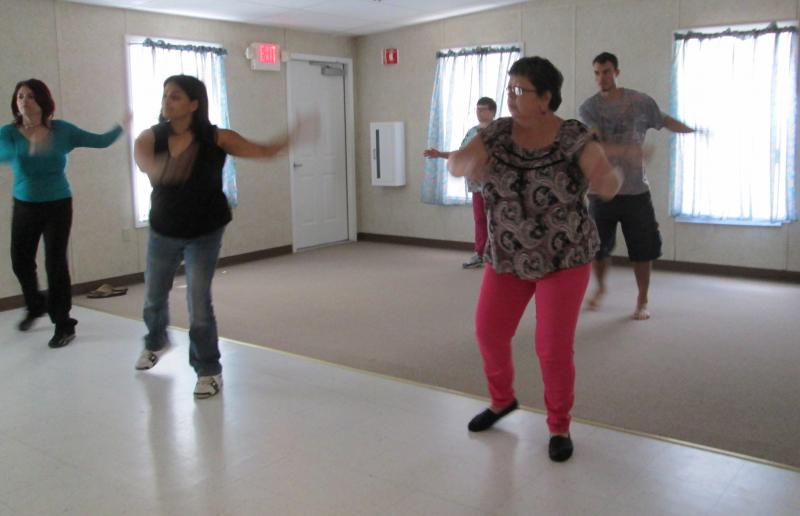 Zumba classes are part of the behavioral health curriculum at Valencia Counseling Service