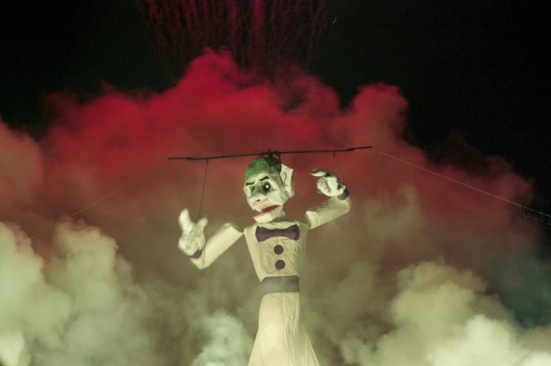 The 89th annual burning of Zozobra kicked off Thursday night at Fort Marcy Park in Santa Fe