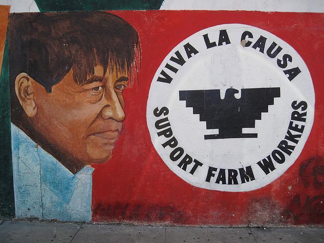 Ra ces kunm for Cesar chavez mural