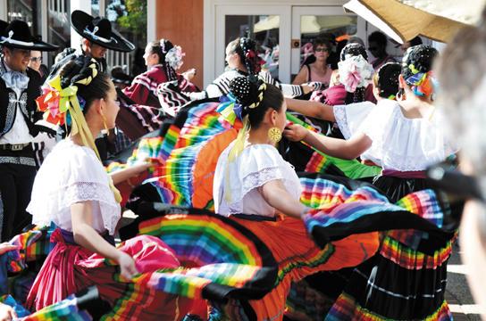 Dancers at Fiesta de Santa Fe