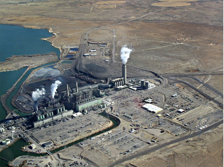 The Four Corners Power Plant in northwestern New Mexico.