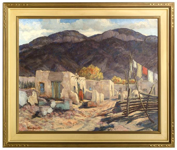 Carl von Hassler - Sandia Pueblo, ca. 1925