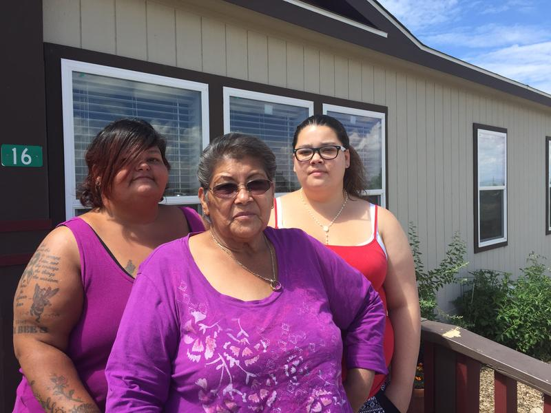 Megan King (right) along with her grandmother and aunt, say they are frustrated that Chrysalis is being moved.