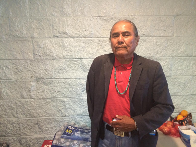 """Shiprock Chapter President Duane """"Chilli"""" Yazzie"""