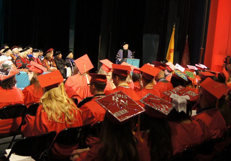 Nursing graduates at the Summer 2015 convocation