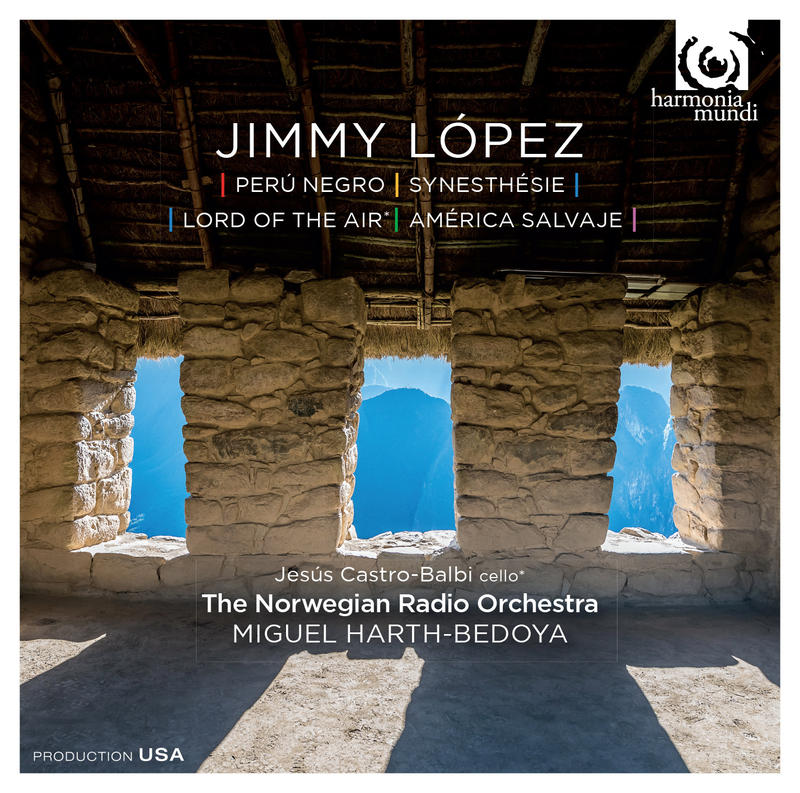 "Jimmy López ""Perú Negro"", CD Cover"