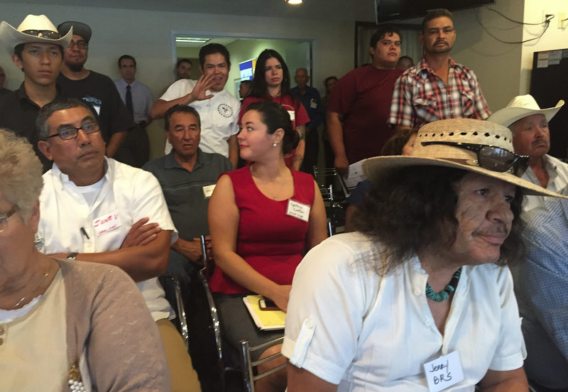 Farmers and ranchers in New Mexico listened to concerns that the USDA continues to violate civil rights.