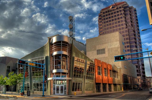 Downtown Albuquerque.