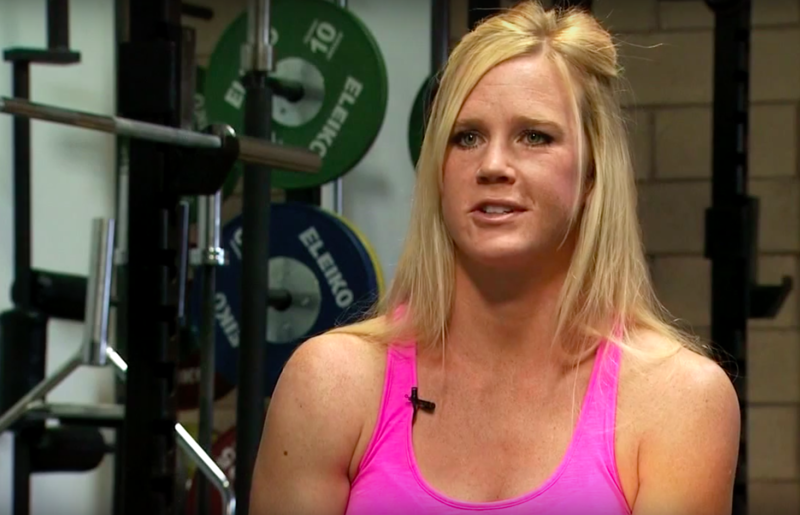 Holly Holm on New Mexico in Focus in 2014.