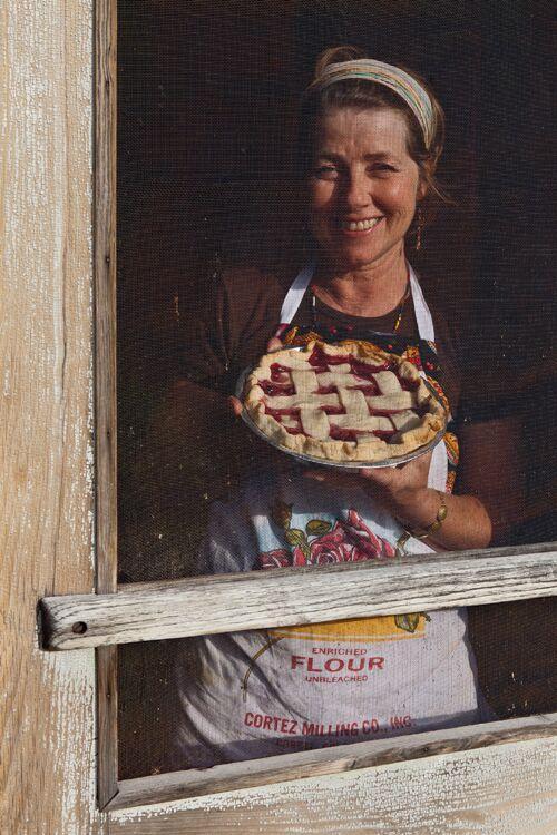 Kathy Knapp, Proprietor, Pie-O-Neer Café