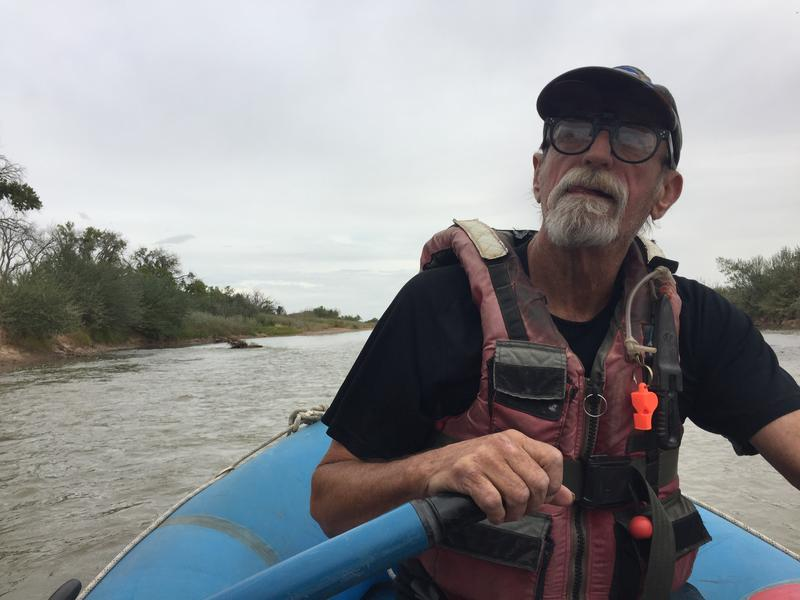Steve Harris says the river is a life support system as well as a water supply.