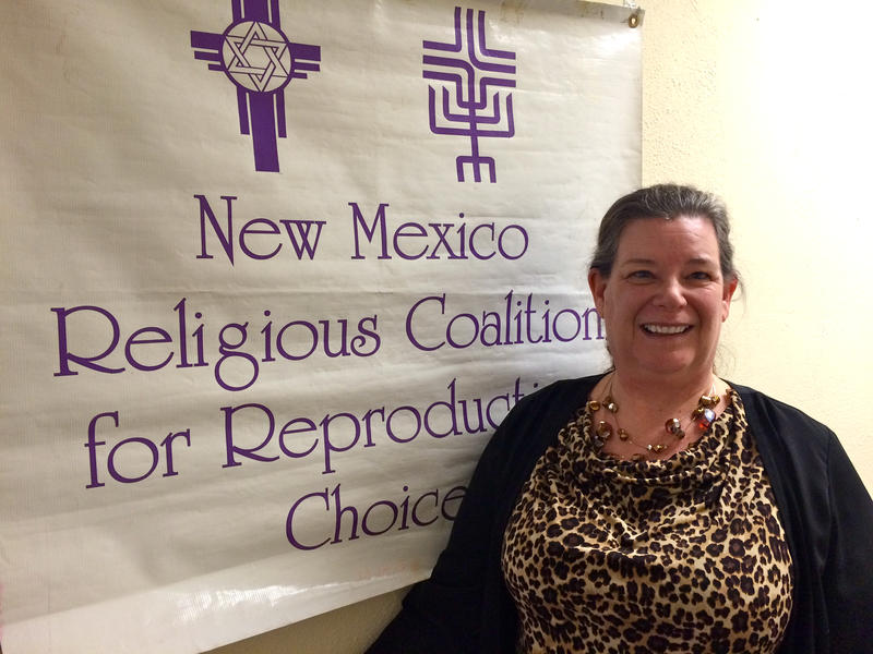 Joan Lamunyon Sanford, executive director for the New Mexico Religious Coalition For Reproductive Choice