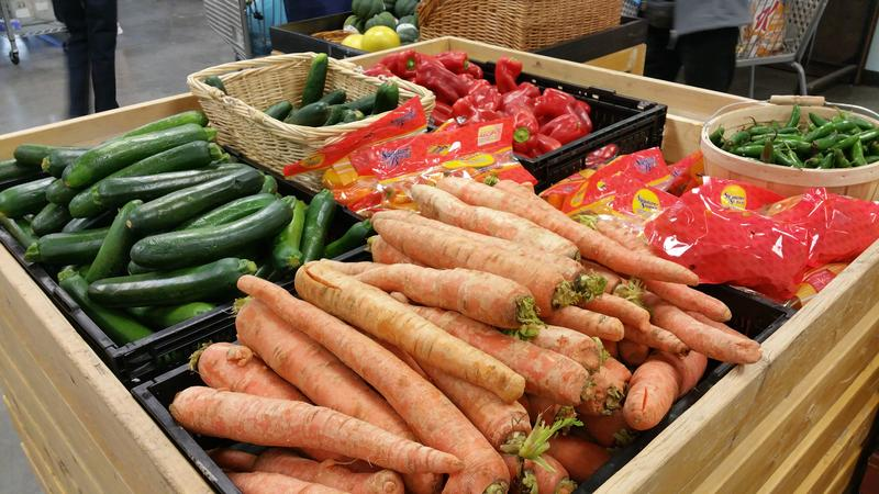 Fresh produce at Roadrunner Food Bank's Healthy Foods Center