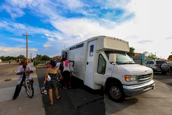 Healthcare for the Homeless got capital outlay funding to replace this aging van.