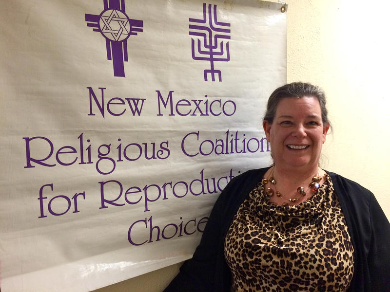 Joan Lamunyon Sanford, director of the New Mexico Religious Coalition for Reproductive Choice