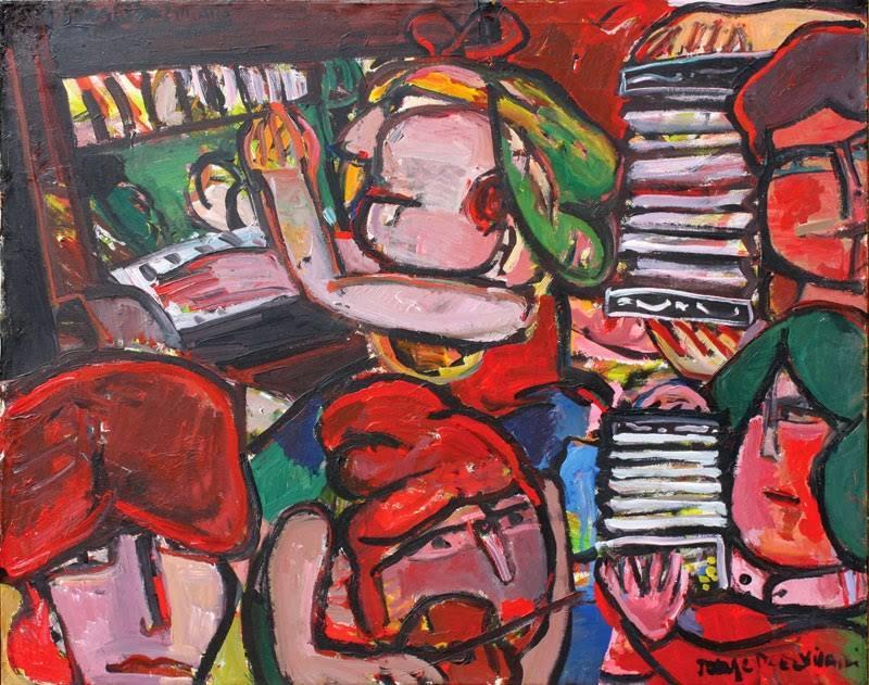 "Art: ""Orquesta de señoritas"" by Jorge Paez Vilaró"
