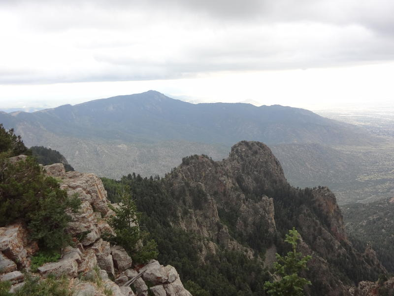 View from Sandia Peak
