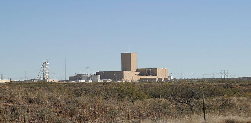 The Waste Isolation Pilot Plant in southern New Mexico, a geological repository for radioactive waste