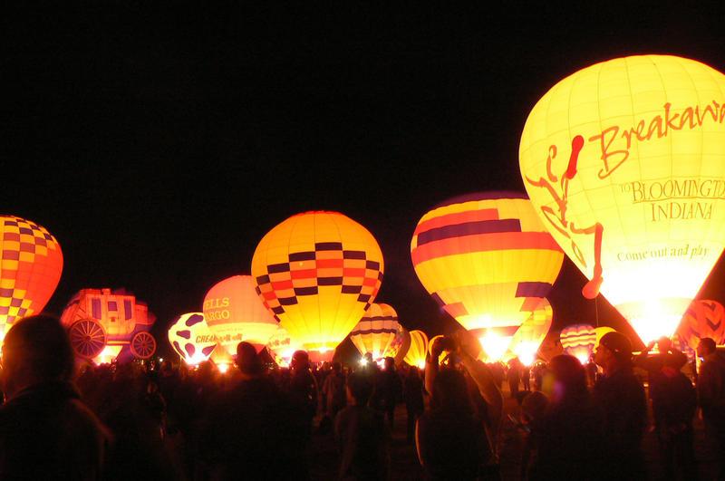 Balloon Glow in Albuquerque