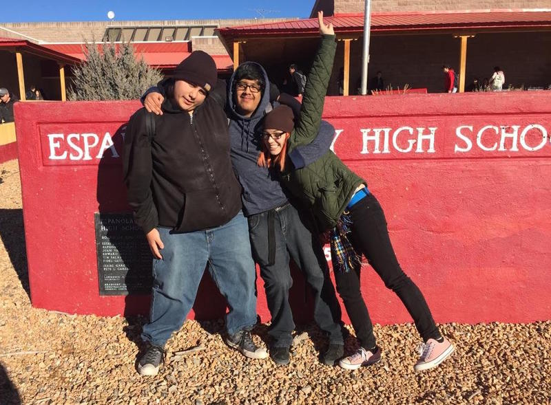 Students at Española Valley High School helped report this story. Ramon Navarro, Angel Gonzales, and Ashly Poncé