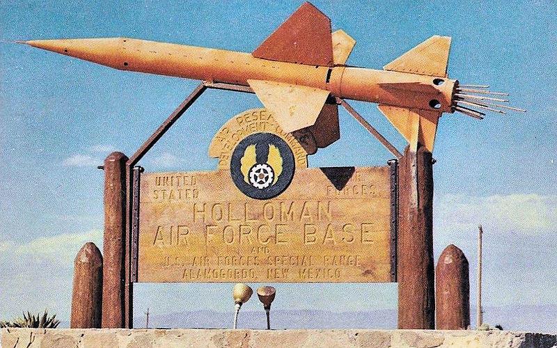 Holloman Airforce Base Sign