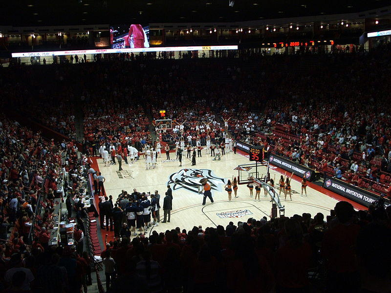 Inside The Pit (WisePies) Arena at UNM