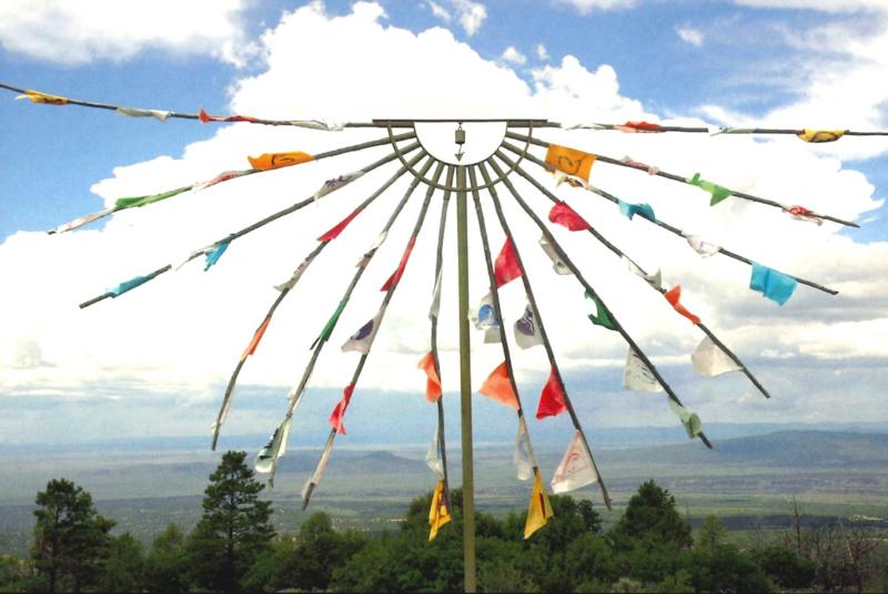 Prayer flags at Lama.