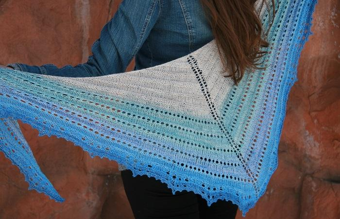 The Beach Cove Shawl by Anne Podlesak