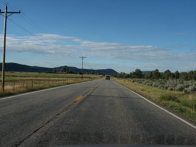 U.S. 550 Between Durango, Colorado and Aztec, New Mexico