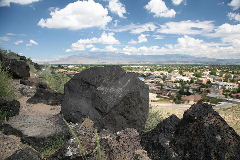 Petroglyph National Monument, on Albuquerque's West Mesa