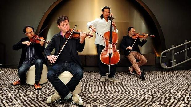 The Flux Quartet will work with the young composers and then perform their new works in a Festival concert on August 4.