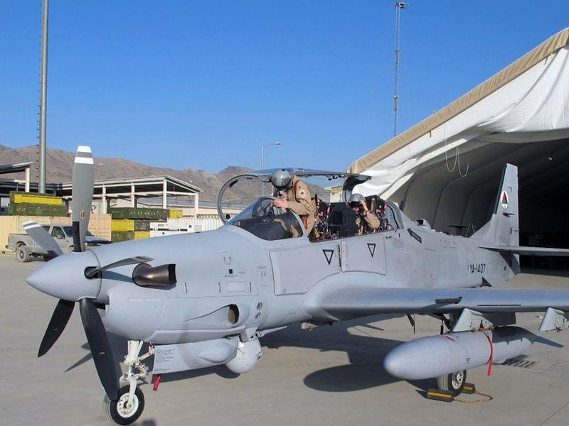 Afghan Air Force Embraer A-29 Super Tucano