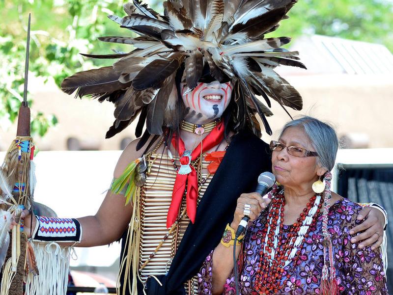 Santa Fe Indian Market - Native Clothing Contest 2013
