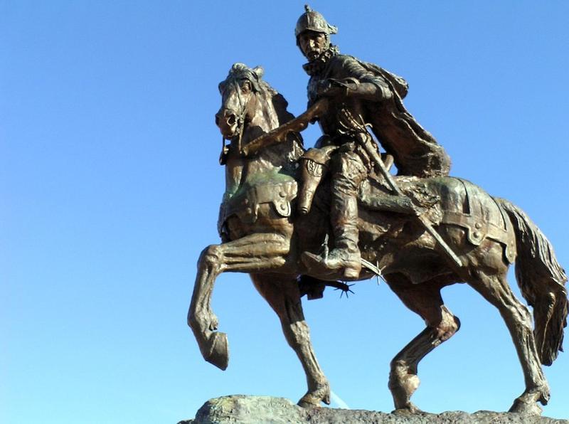 Equestrian Statue of Juan De Oñate, Oñate Monument Center, Alcalde, NM