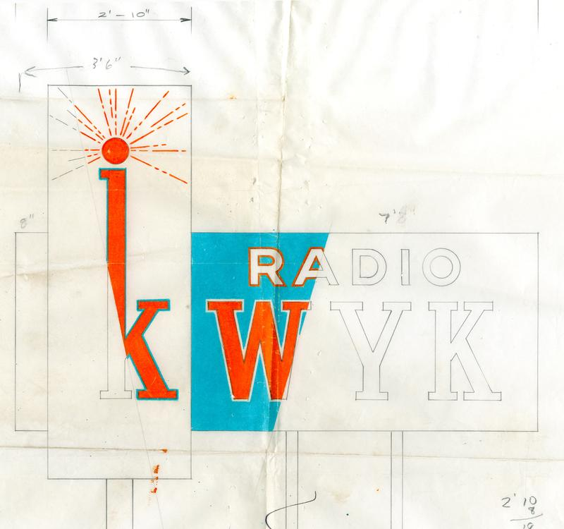 Design for KWYK Radio in Farmington
