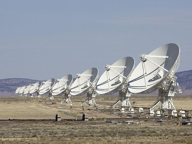 The Very Large Array on the San Augustin Plains west of Socorro