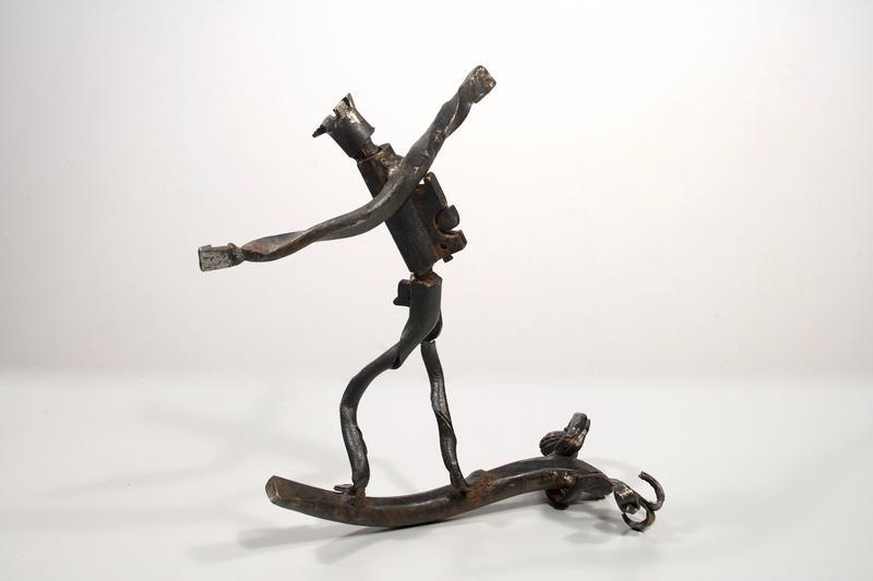 Sculpture by SFCC forging student John Cordova