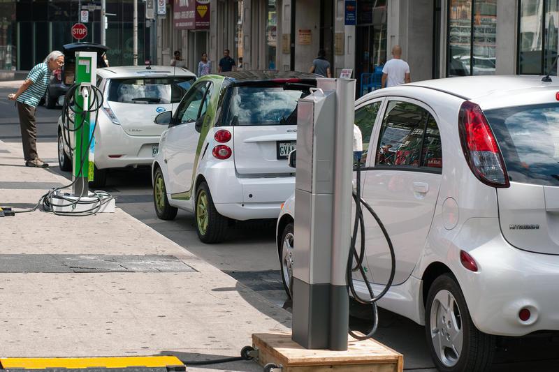 Plug'n Drive's Electric Car Charging Station