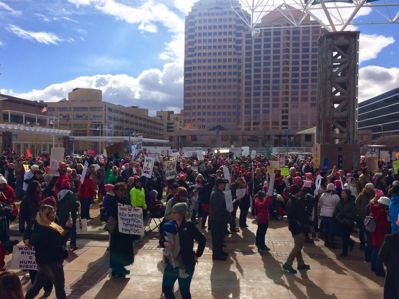 2018 Women's March in Albuquerque