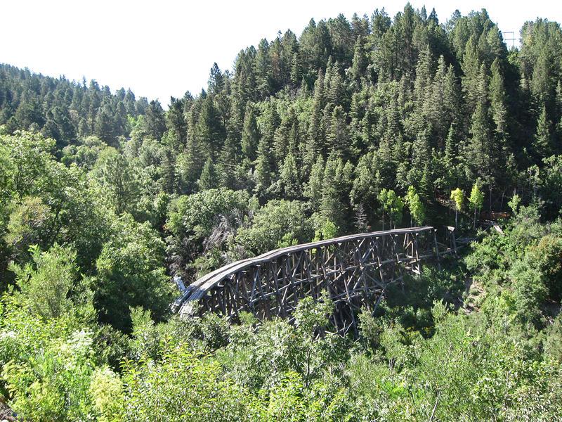 Mexican Canyon Trestle; Cloudcroft, NM